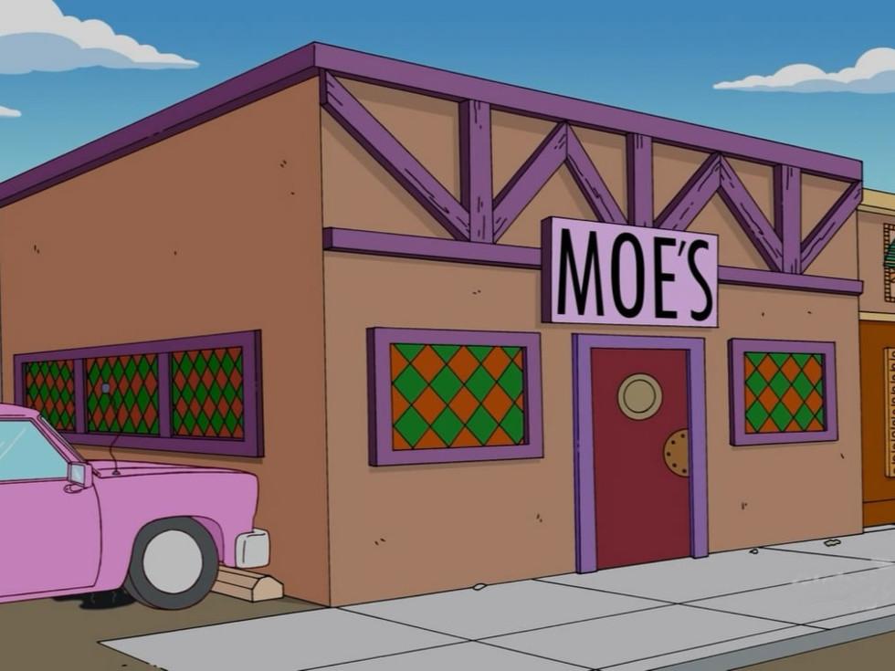 Simpsons Moe's Tavern