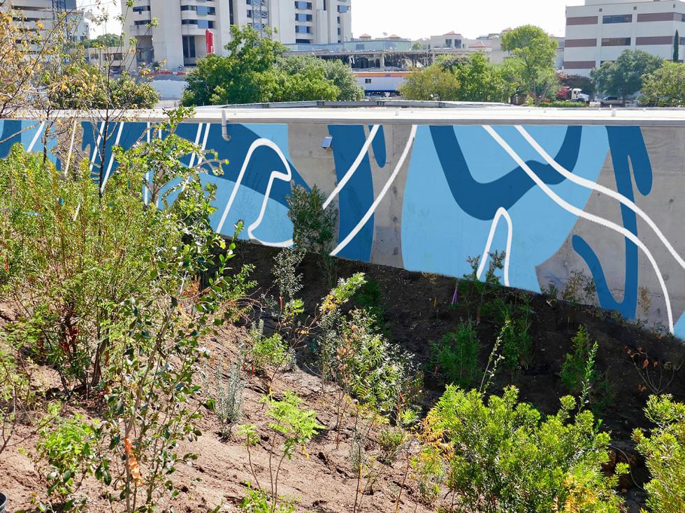 Waterloo Park Mural downtown Austin