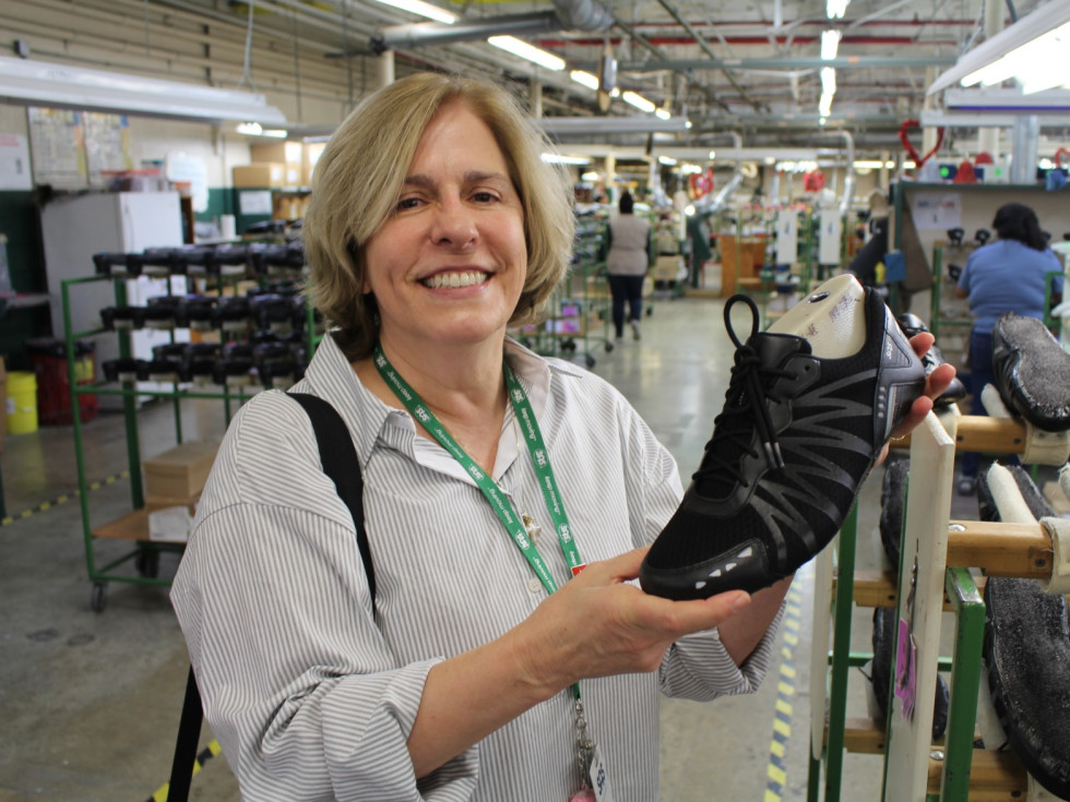 Nancy Richardson of San Antonio Shoemakers