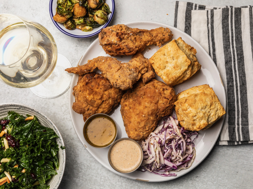 Feges BBQ Spring Branch fried chicken