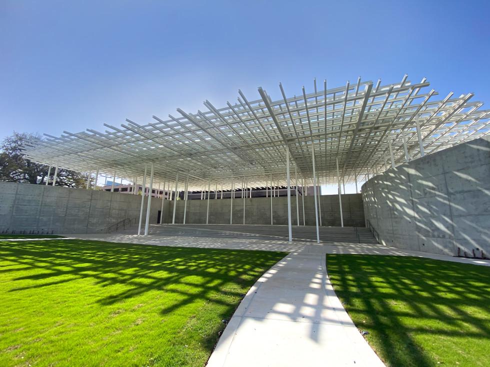 Waterloo Park Moody Amphitheater in Austin