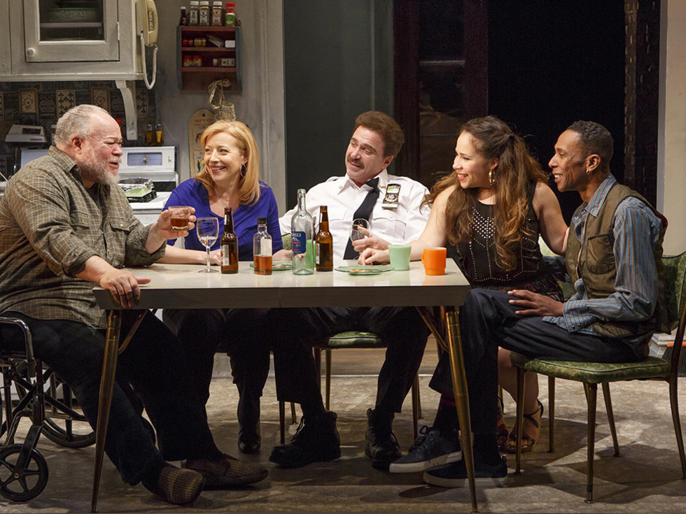 Between Riverside and Crazy at Second Stage Theatre