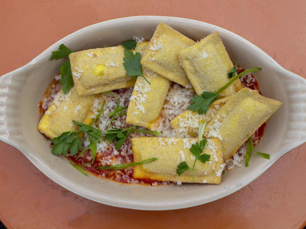 One Fifth Red Sauce Italian toasted ravioli