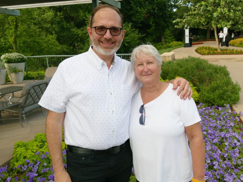 Steve DeShazo, Chef Sharon Van Meter