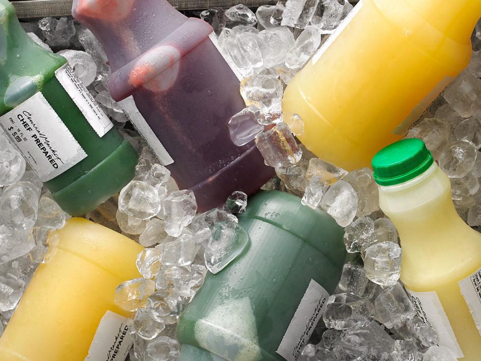 Central Market cold-pressed juices