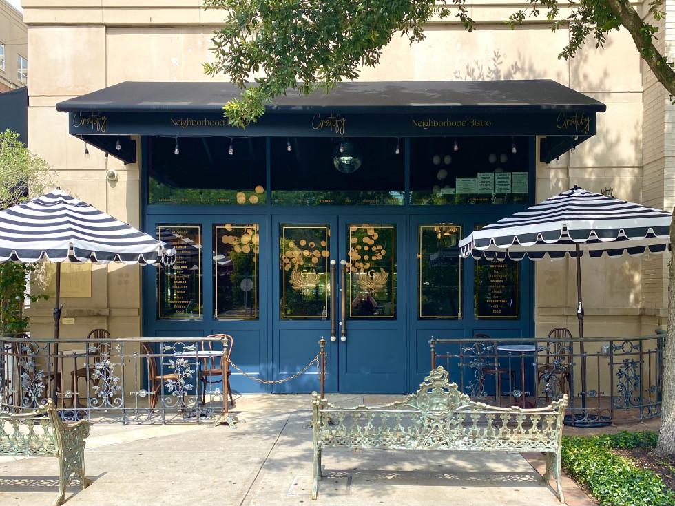 Gratify restaurant exterior