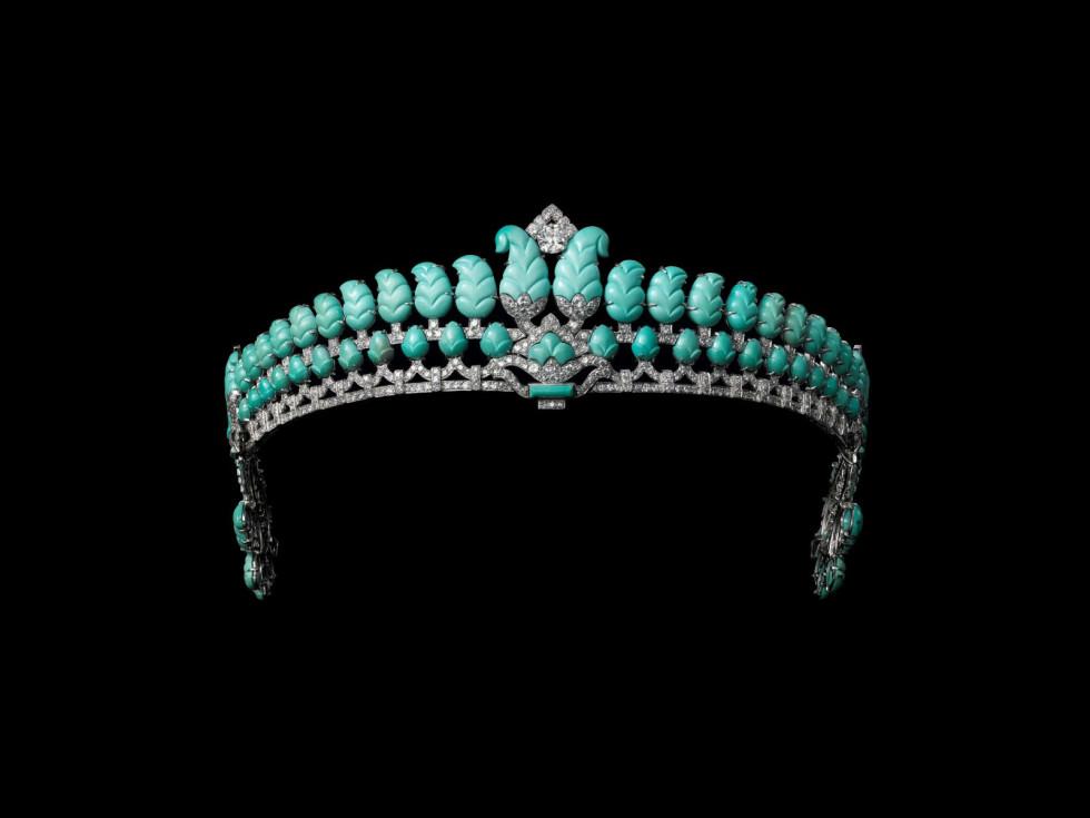 """Tiara, Cartier London, """"Cartier and Islamic Art"""""""