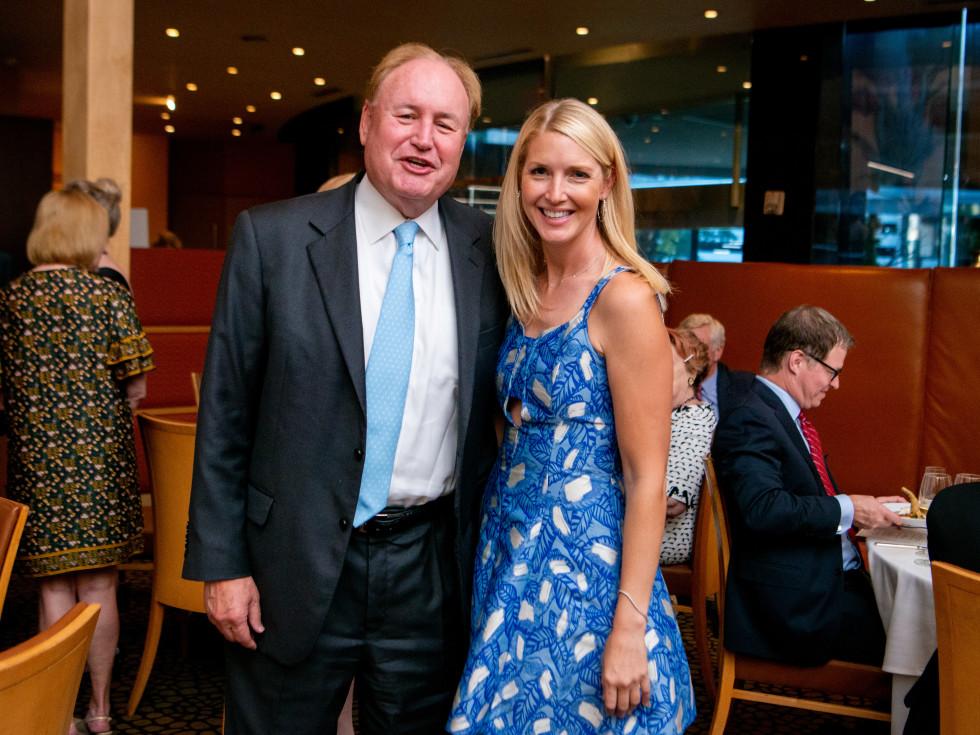 Tony's Wine Dinner The Women's Fund Gary Petersen, Laura Hatfield