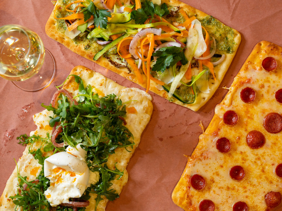 Palace Social pizza trio