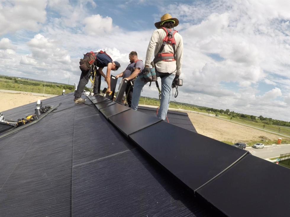 Tesla Solar community