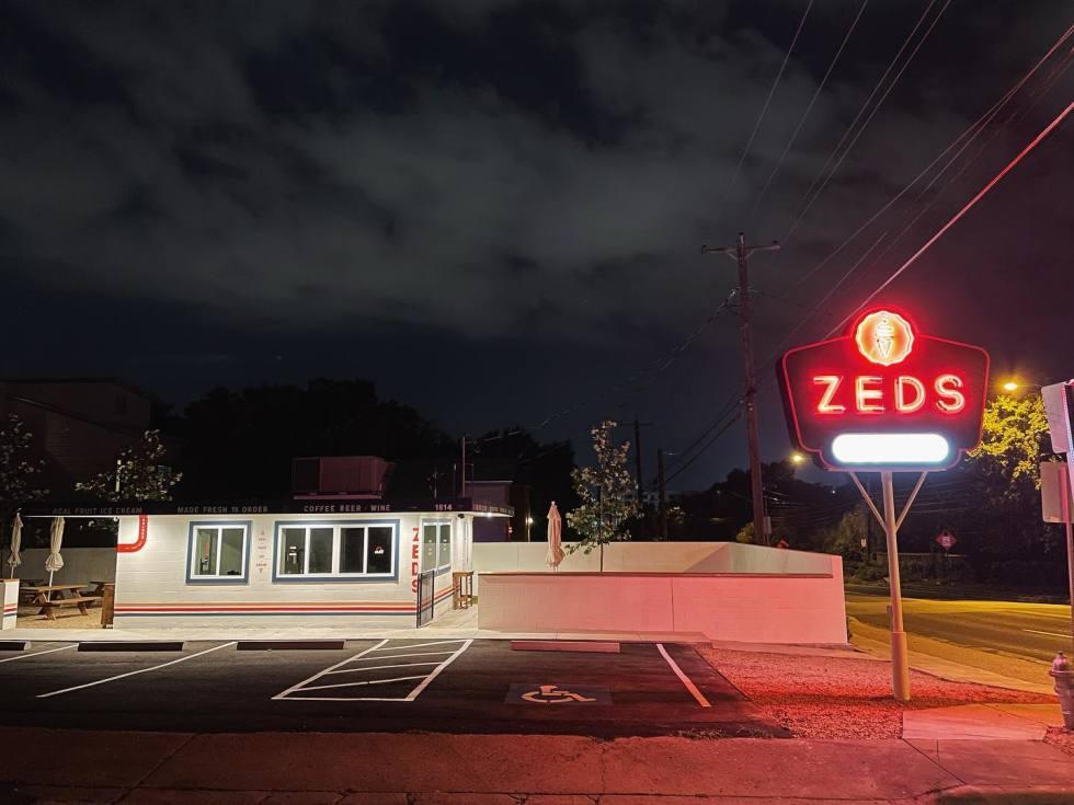 Zeds Ice Cream in East Austin