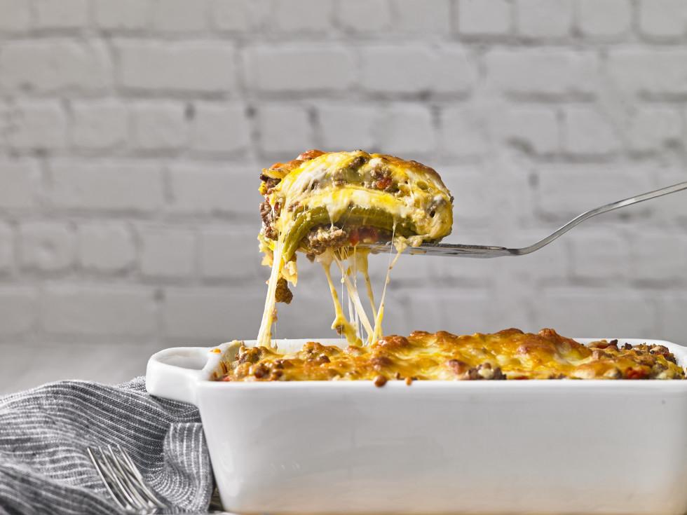 Hatch Tex-Mex lasagna
