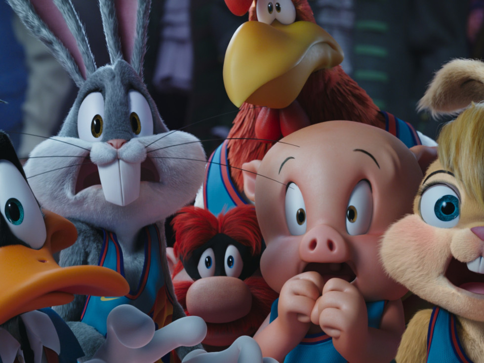 Looney Tunes characters in Space Jam: A New Legacy
