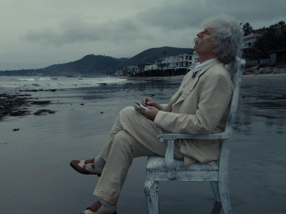 Val Kilmer as Mark Twain in Val