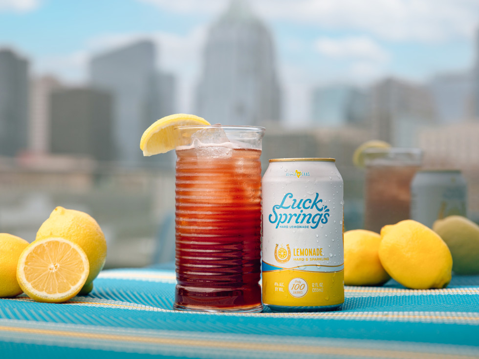 Luck Springs lemonade cocktail
