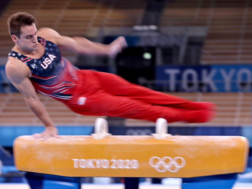 Olympics Gymnastics 2021 Sam Mikulak