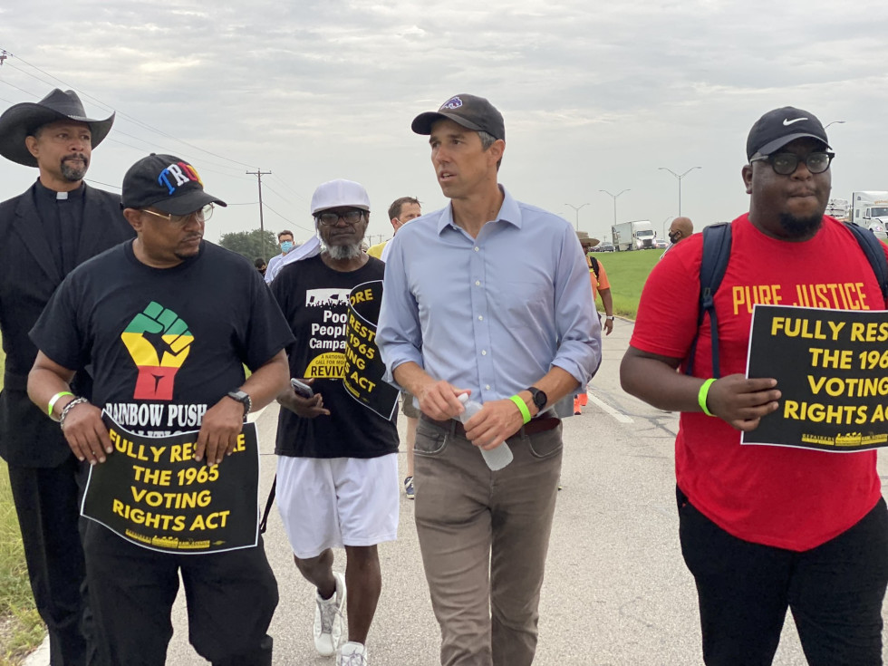 Beto on the march