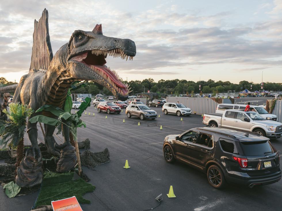 Jurassic Quest drive-through