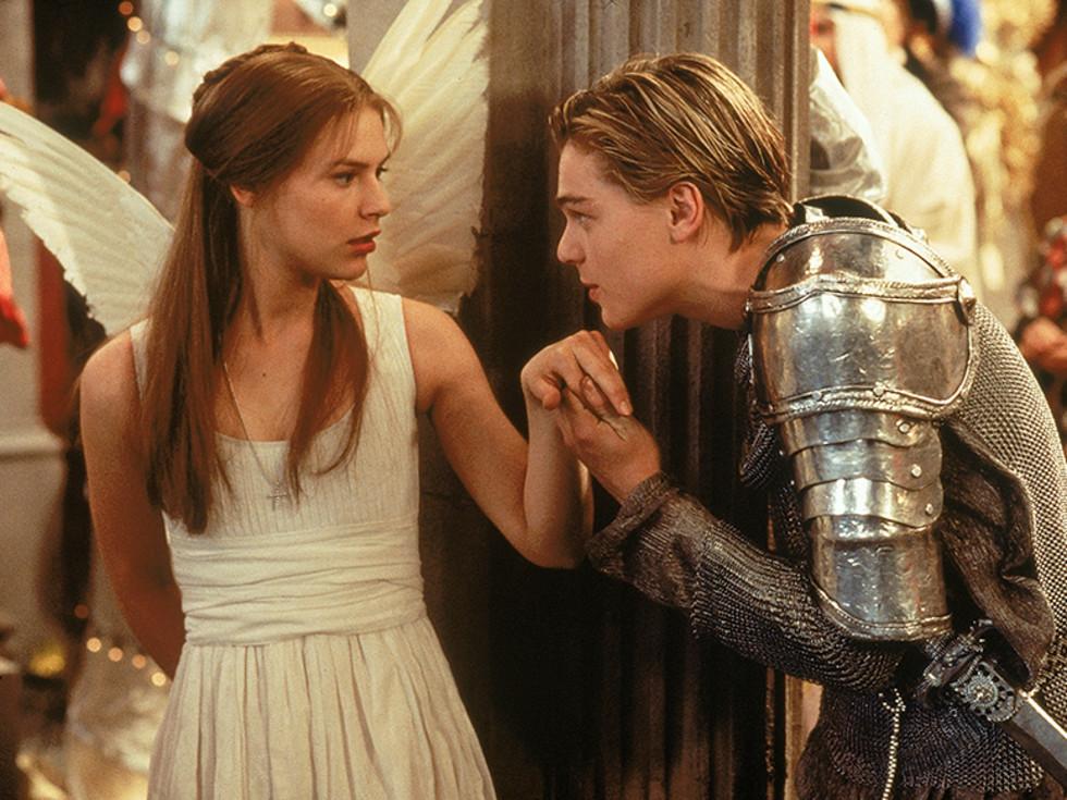 Romeo + Juliet movie dicaprio