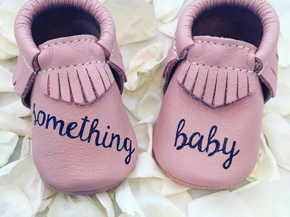 DTLAcustom Tara Martin baby shoes