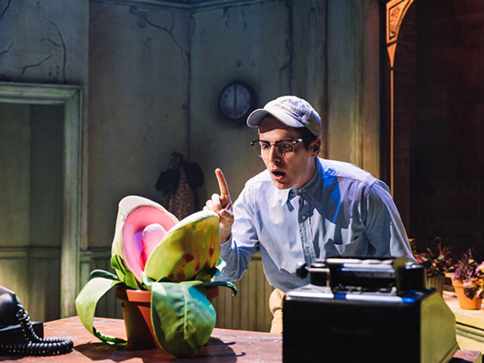 2019 Off Broadway revival of Little Shop of Horrors
