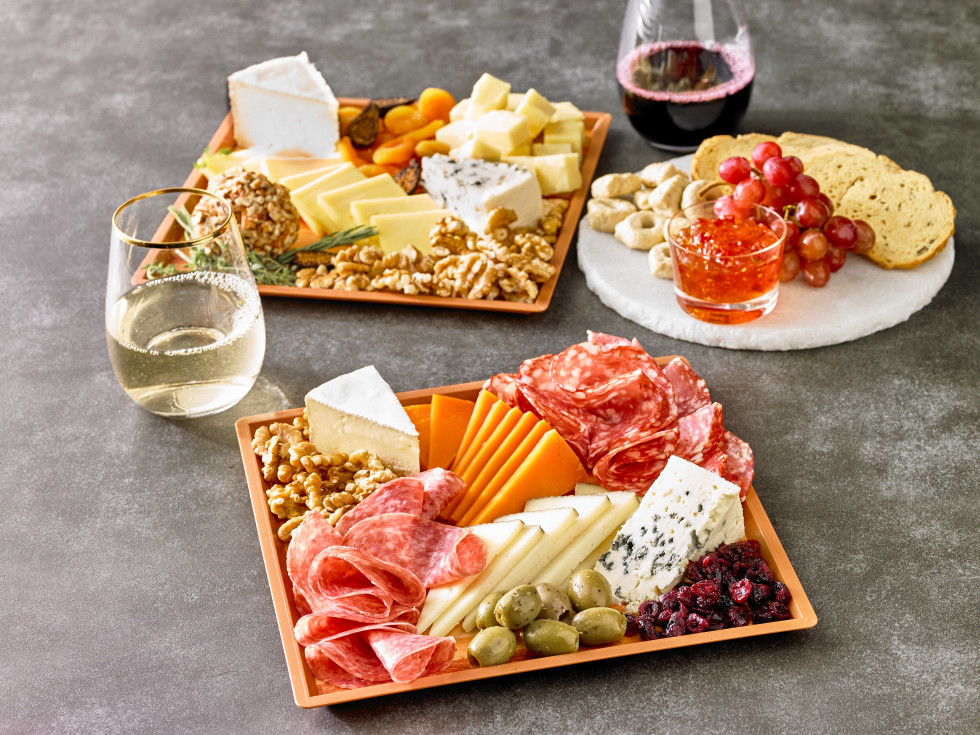 Central Market cheese boards