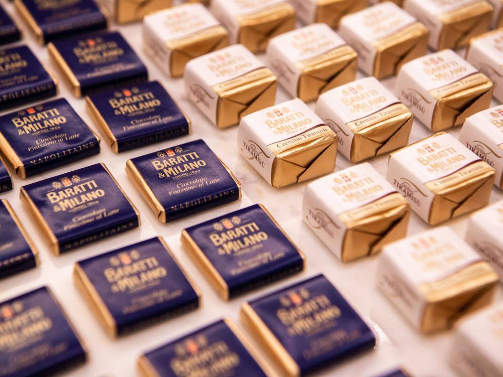 ICCC La Dolce Vita Neiman Marcus 2021 Baratti & Milano chocolate