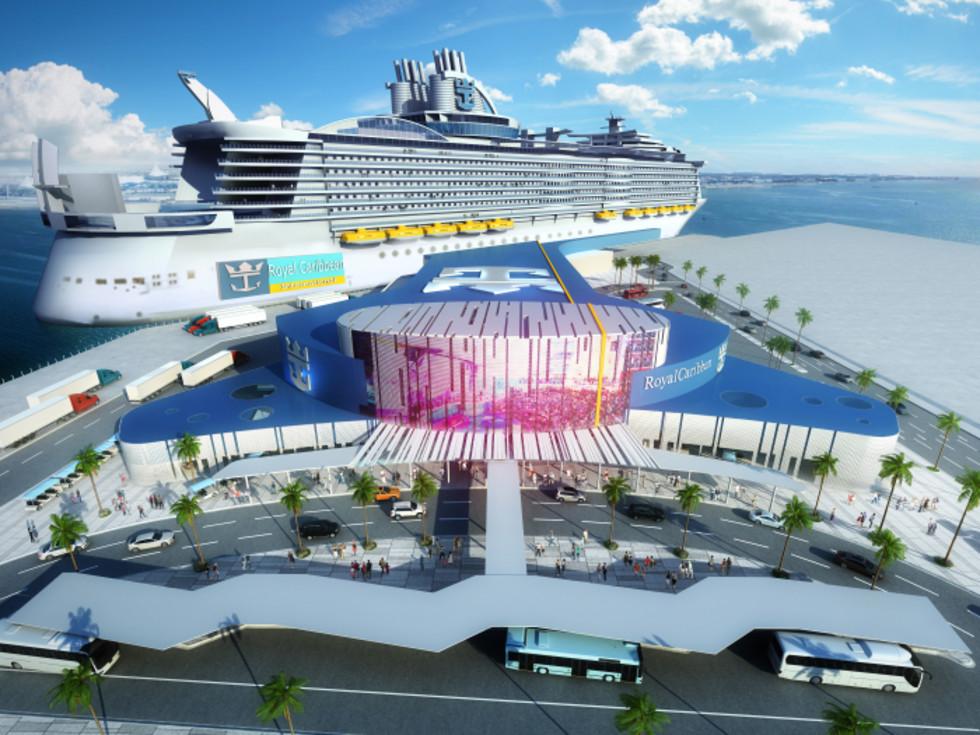 Royal Caribbean Galveston terminal Allure