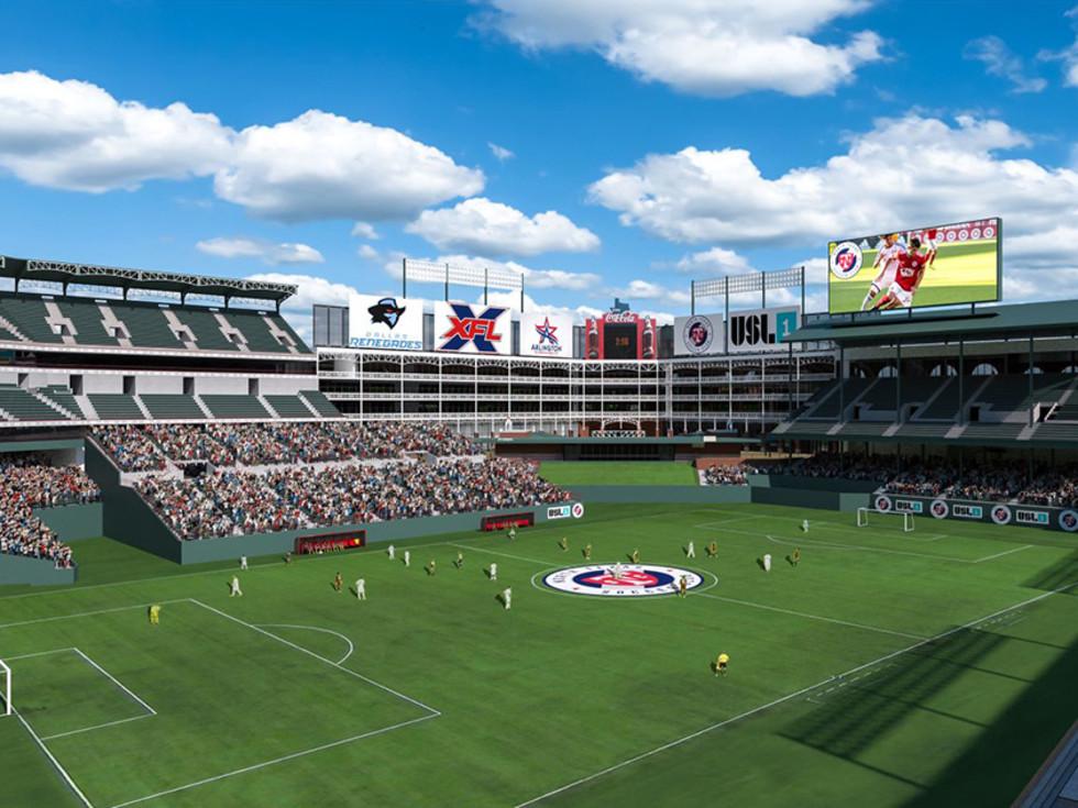 Globe Life Park/Choctaw Stadium