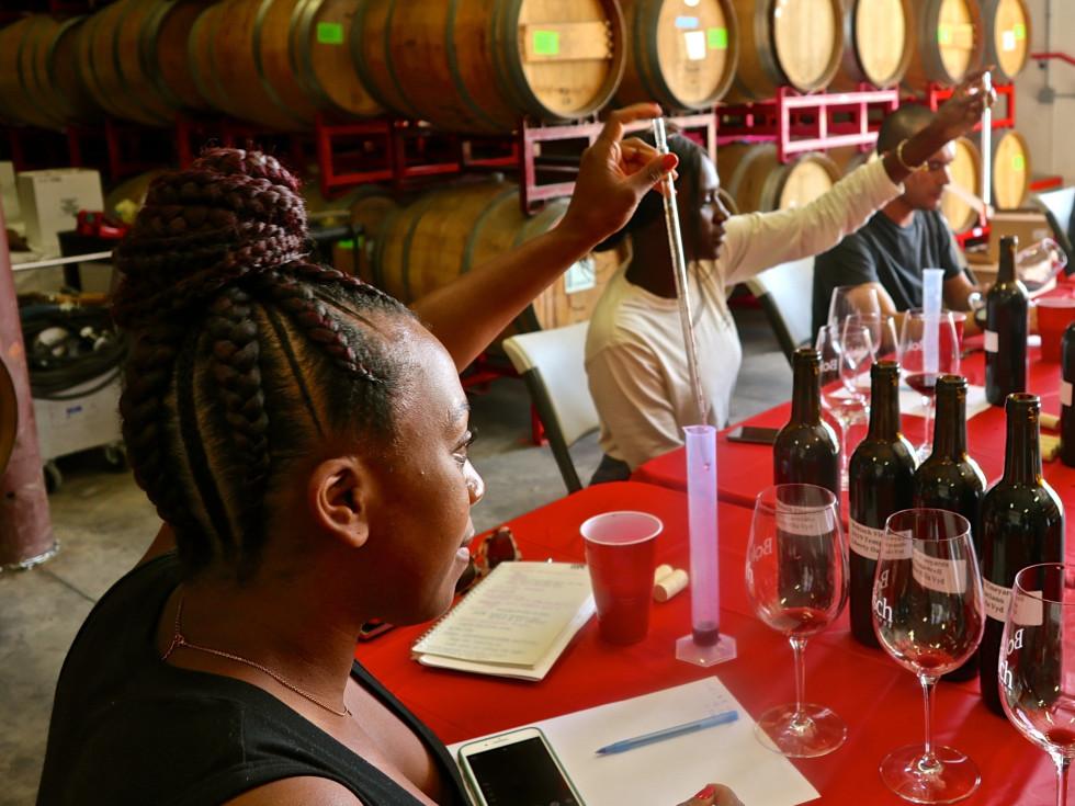 Lindsey Rose Southern Smoke Foundation Roots Fund wine scholarship