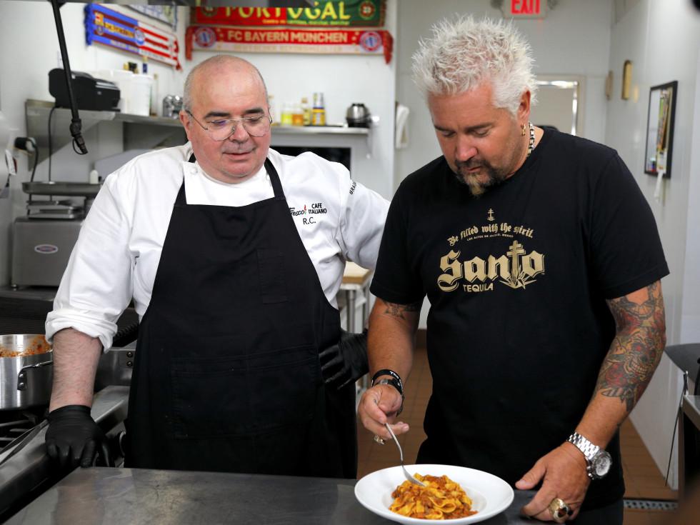 Roberto Crescini Fresco Café Italiano Guy Fieri Diners Drives In Dives