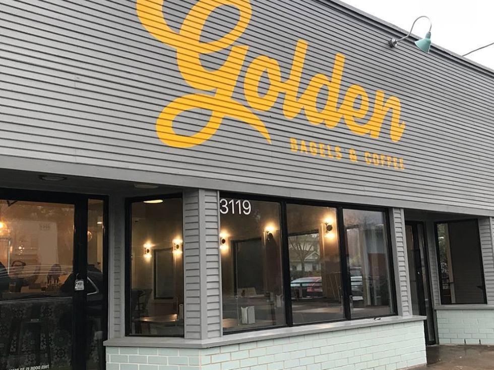 Golden Bagel exterior