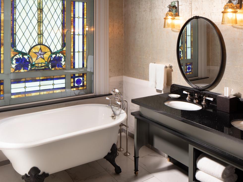 LBJ suite bathroom