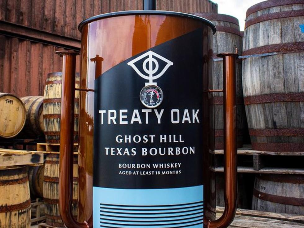 Treaty Oak Ghost Hill Texas Bourbon