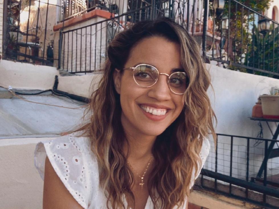 Natalie Morales in Language Lessons