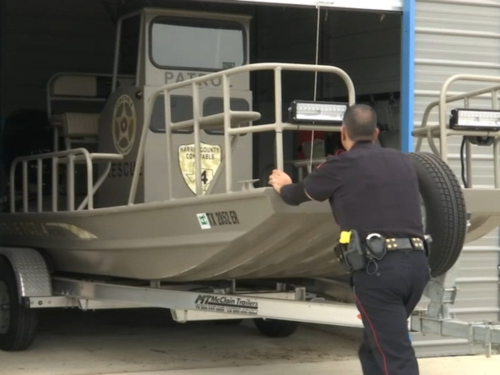tropical storm nicholas preparation boat houston harris county