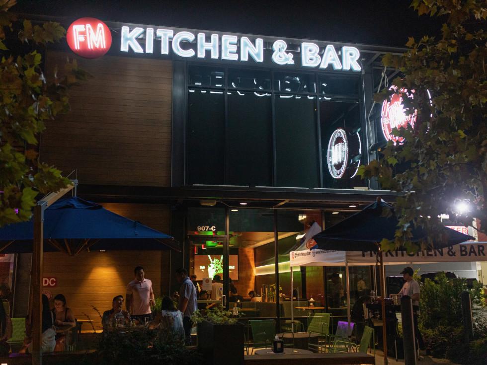 FM Kitchen Montrose opening night exterior