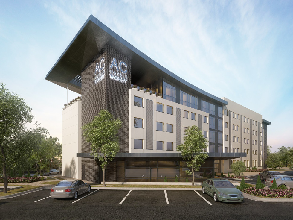AC Hotel Austin Hill Country rendering