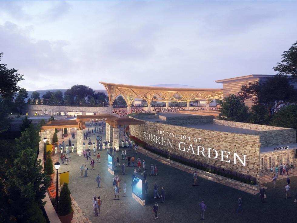 Sunken Garden Theater rendering