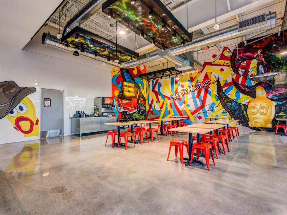 Dave's Hot Chicken Houston interior