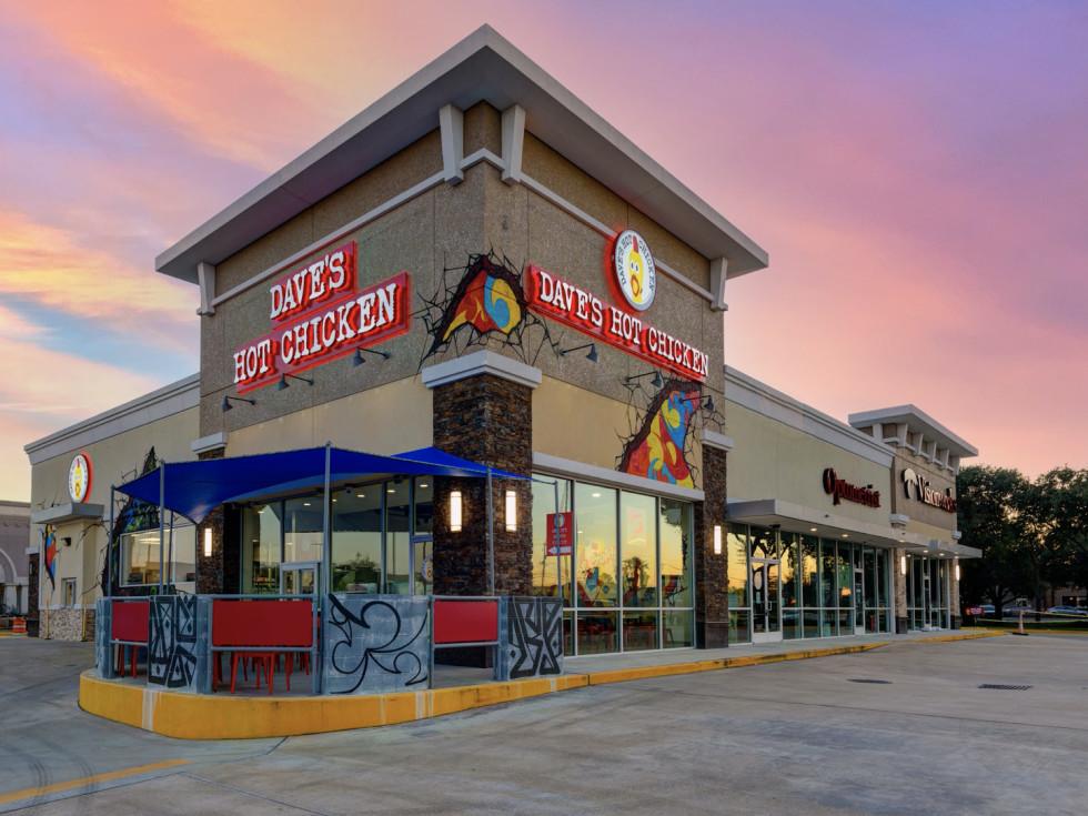 Dave's Hot Chicken Houston Exterior