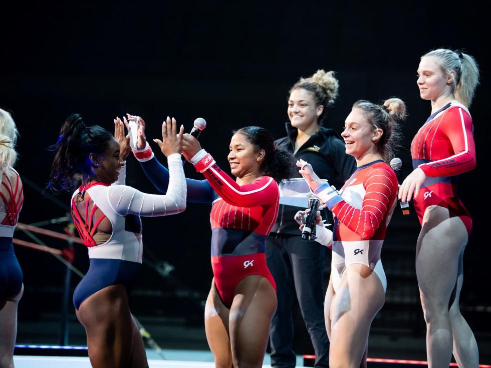 Gold Over America Tour, Jordan Chiles