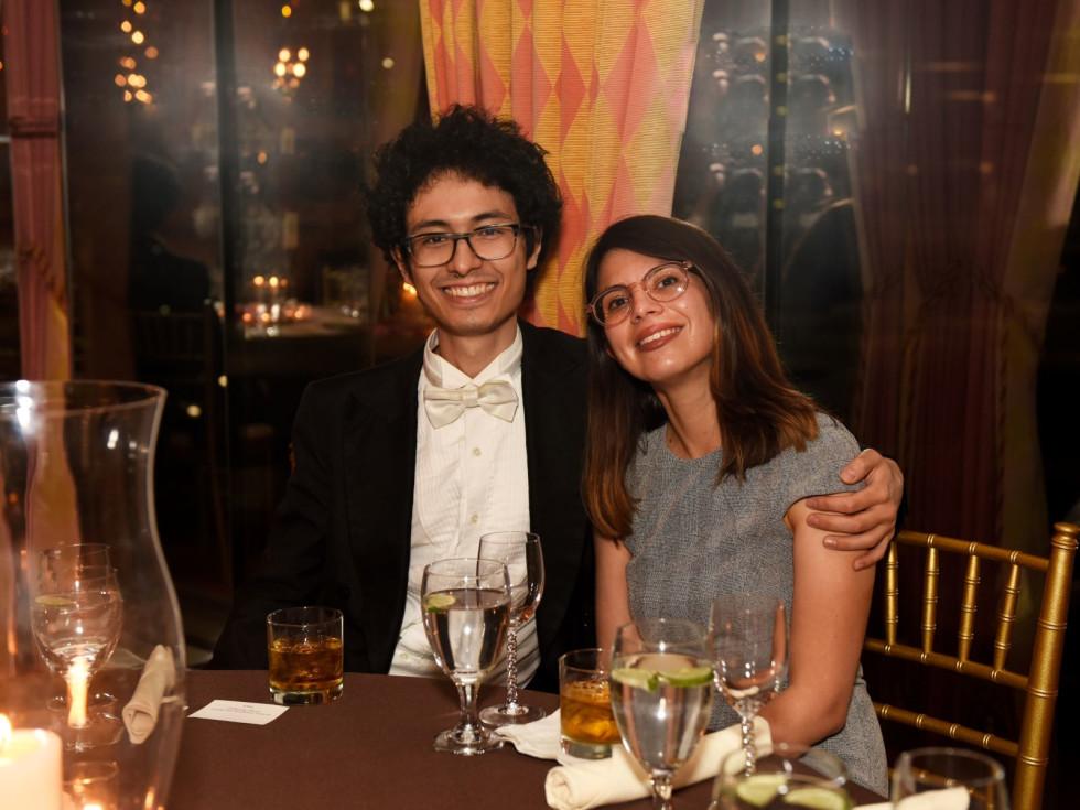Nick Sakakeeny and Mariel Zuniga