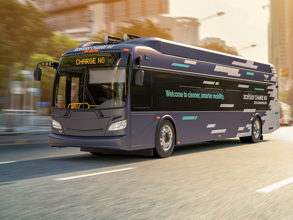 Electric bus Austin