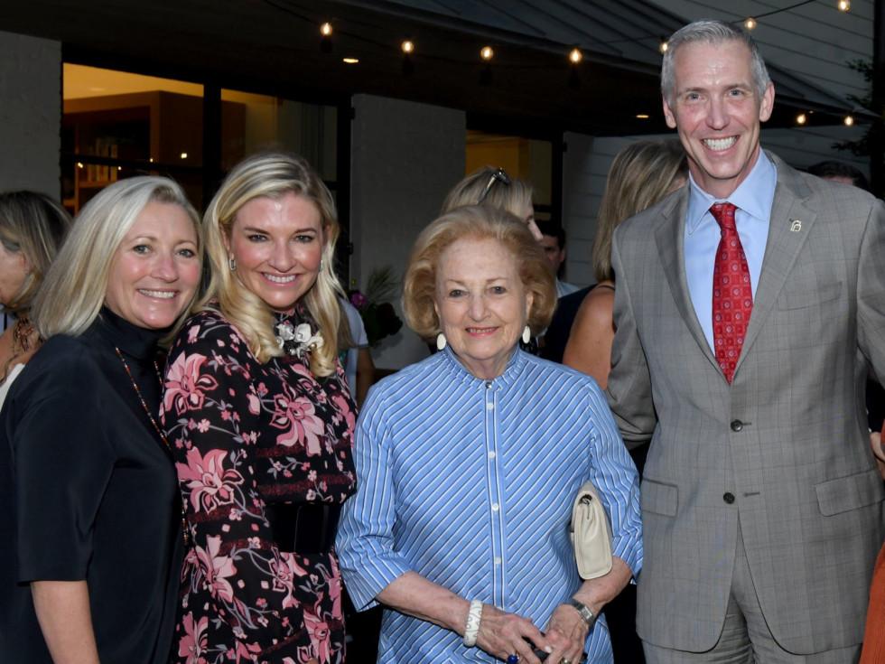 Carolyn Perot Rathjen, Katherine Perot Reeves, Margot Perot and Ken Lambrecht