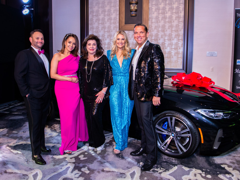 Houston Children's Charity Gala 2021 Tommy Kuranoff, Maria Moncada Alaoui, Laura Ward, Frances and Tony Buzbee