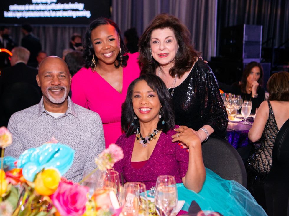 Houston Children's Charity Gala 2021 Mario Elia, Tamara Washington, Gina Gaston, Laura Ward
