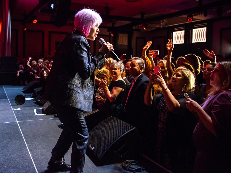 Houston Children's Charity Gala 2021 Cyndi Lauper
