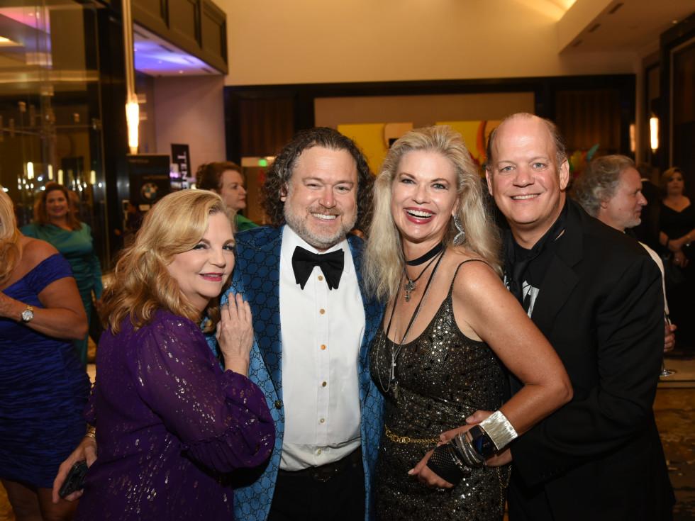 Houston Children's Charity Gala 2021 Kim Padgett, Gregg Harrison, Amy and Rob Pierce