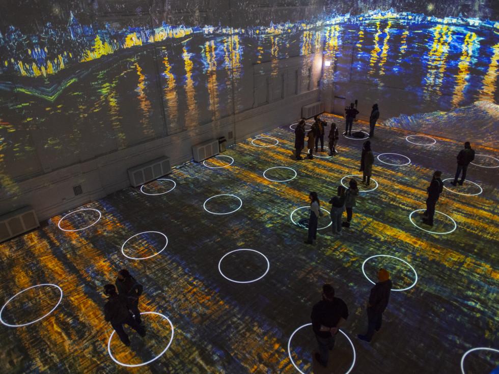 Immersive Van Gogh Exhibit Houston